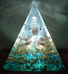 #Orgonite Pyramid   How to make orgone and orgonite www.HowTo…   Flickr