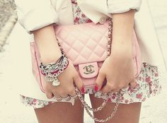 Baby Pink Chanel Quilted Bag