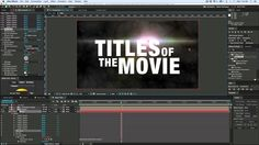 ... on Pinterest | After effect tutorial, After effects and Motion design