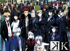 K Project, one of the most styling anime series to come along in a while.