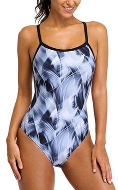 ALove Women Lap 1 Piece Swimsuit Sports Swimwear One Piece Athletic Swimsuit  XL Sports Swimwear b413d992d5