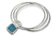 Seaglass jewelry by SilverStorm in Scituate, ma