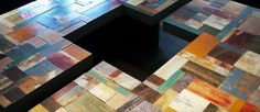 Mesa de centro con colores M2