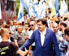 Saakashvili in Lviv has told the plans for the future