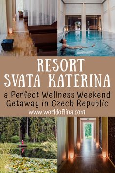 The wonderful Resort Svata Katerina is the perfect wellness weekend getaway from Vienna, Linz, or anywhere in Czech Republic. #czechrepublic #resort #spa #wellness | Ayurveda resort | weekend getaway | spa weekend | travel to the Czech Republic Europe Destinations, Europe Travel Guide, Travel Guides, Amazing Destinations, Dubai, Travel Reviews, Airline Reviews, Hotel Reviews, Weekend Getaways