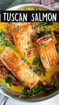 Baked Salmon Recipes, Fish Recipes, Seafood Recipes, Dinner Recipes, Cooking Recipes, Healthy Recipes, Dump Recipes, Salmon Dishes, Gastronomia