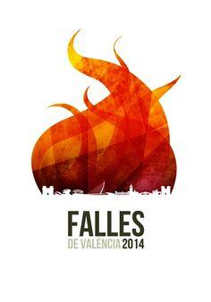 Fallas de Valencia 2014 | Diseño Carteles Publicitarios