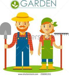 Farmer 스톡 벡터 및 벡터 클립 아트 | Shutterstock