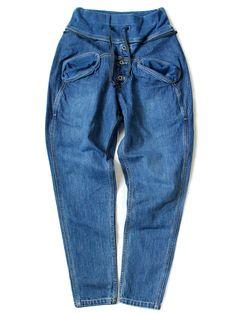 Kapital Mount Blue Sarrouel Nouvelle Pants