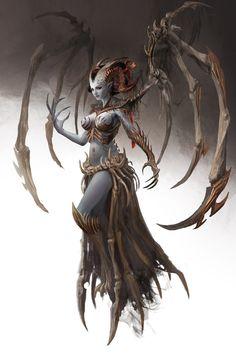 Yara, The White Bone Queen by Manzanedo