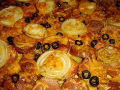 Gluteeniton, sokeriton, kananmunaton. Reseptiä katsottu 19016 kertaa. Reseptin tekijä: anne. Pepperoni, Paella, Pizza, Meat, Chicken, Ethnic Recipes, Food, Essen, Meals