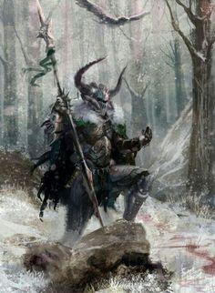 Lone warrior