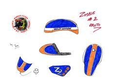 www.zombiebikesconcept.com Zombie 2, Harley Davidson, Concept, Bike, Fabric, Model, Bicycle, Tejido, Tela