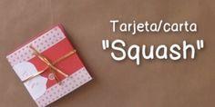 Linda tarjeta Squash para regalar a tu novio