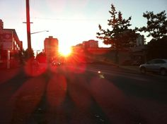 Sunrise on Lonsdale! North Vancouver at its finest!