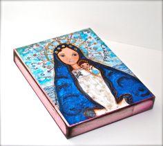 La Virgen de la Caridad del Cobre   Giclee print por FlorLarios, $18.00