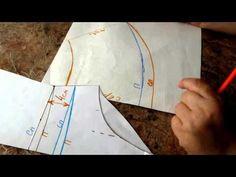 Выкройка юбочки для купальника - YouTube
