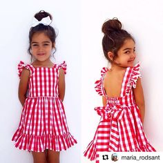 Sewing For Kids Projects Little Girls Ideas Baby Girl Dress Patterns, Little Dresses, Little Girl Dresses, Outfits Niños, Kids Outfits, Little Girl Fashion, Kids Fashion, Baby Kind, Sewing For Kids