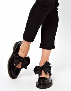 Dr Martens | Dr Martens Mariel Bow Mary Jane Shoes at ASOS