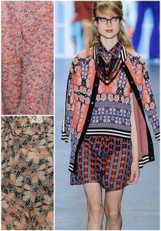 Anna Sui – New York Fashion Week: Ready To Wear Spring 2017 Print Highlight