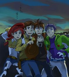 Disney & Cartoon In Anime - Toy Story