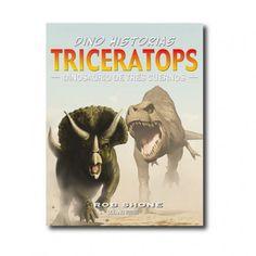 """""""Triceratops"""" (Rob Shone). Editorial: Océano Travesía. Edad recomendada: A partir de 10 años."""
