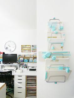 Storage Ideas by Soraya Maes--Punch Boards