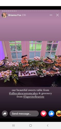 Party Food Bars, Greenery, Sweets, Messages, Beautiful, Gummi Candy, Candy, Goodies