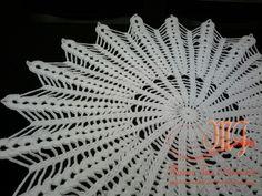 Centro de mesa branco Duna