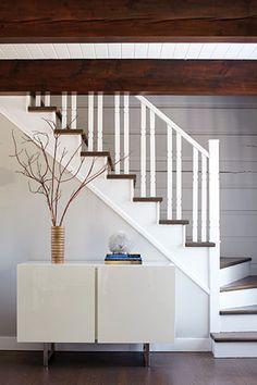 rampes d 39 escalier moderne recherche google maison pinterest salons and sous sol. Black Bedroom Furniture Sets. Home Design Ideas