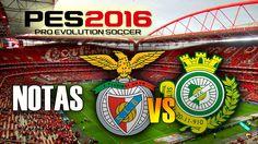 SL Benfica vs Vitoria de Setúbal FC|2ªJornada Liga NOS 2016/17|Pro Evolu...