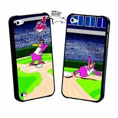 Iphone 5 Cleveland Indians Mascot Lenticular Case