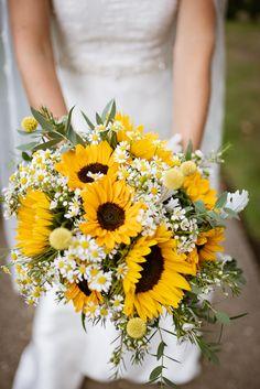 Sunflower Arrangements, Sunflower Bouquets, Daisy Bouquet Wedding, Wedding Bouquets With Sunflowers, Sunflower Wedding Flowers, Daisies Bouquet, Sunflower Wedding Decorations, Sunflower Centerpieces, Sunflowers And Daisies