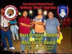 Anthony Gonzalez Wins Football Awards