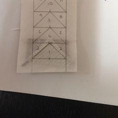 Coser y Coser Patchwork: Tutorial Vuelo de la Oca. Origami, Notebook, Diy, Blog, Ideas, Longarm Quilting, Quilting Patterns, Little Things, Quilts