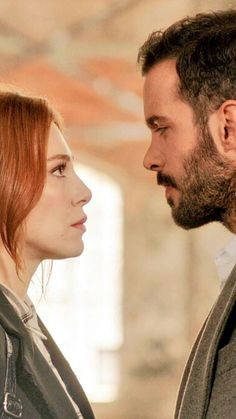 Elcin Sangu and Baris Arduc Movie Couples, Romantic Couples, Cute Couples, Artemis, Alina Boz, Red Hair Woman, Elcin Sangu, Angel Aesthetic, Couple Goals Relationships