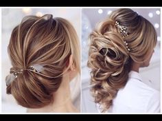 10 The Most Beautiful Hairstyles Compilation Tutorial For Xmas New Eve New Year 2016 - 2017 - YouTube