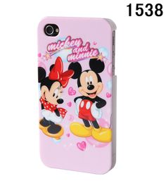 Mickey Mouse And Minnie Mouse Phone Cases For Iphone 4G 4S [a16] - $24 ...