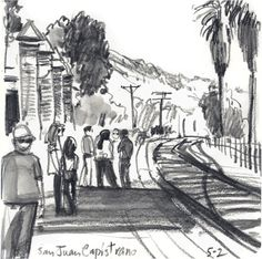 San Juan Capistrano Train Station-Virginia Hein