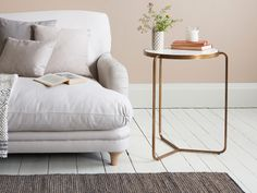 High Jinks copper side table