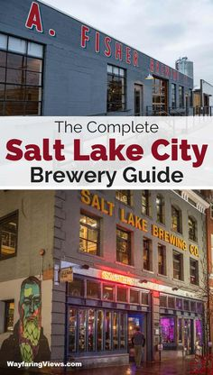The complete guide to breweries in Salt Lake City Utah. Find the top 11 brew pubs and microbreweries in Salt Lake and learn where to go , what to drink and what to eat. | Salt Lake City bars | Salt Lake City nightlife | Salt Lake City restaurants | Salt Lake City eats | Things to do in Salt Lake City
