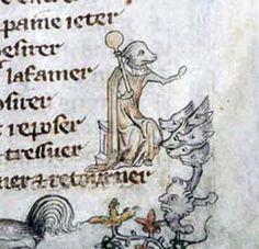 Image result for medieval manuscript doodling