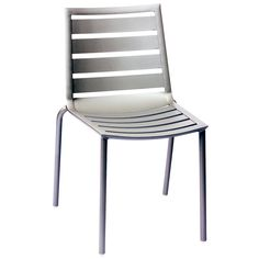BFM Seating South Beach Stacking Side Chair With Silver Finish Model Patio Rocking Chairs, Outdoor Dining Chairs, Patio Chairs, Dining Chair Set, Side Chairs, Outdoor Furniture, Restaurant Furniture, Restaurant Chairs, Youth Group Rooms
