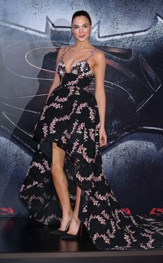 Flawless from Gal Gadot's Best Looks  Wonder Woman wows in Giambattista Valli at theBatman v Superman premiere in Mexico City.