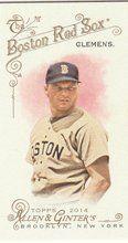 2014 Topps Allen Ginter Baseball Mini #66 Roger Clemens, Boston Red Sox