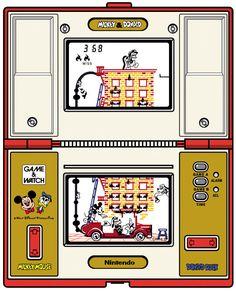 #Nintendo Game & Watch, Mickey & Donald