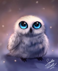 I dont know why.. But I have started to like white owls.. they are just to cute :3. this is some doodle in cs5. Edit : I drew this on free hand so yeah, Its my style.If you people wondering why Ist...