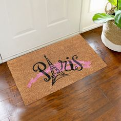 Natural Coir Door Mats with Attractive Printed Designs to Welcome your Guests. The tough hard wearing Coir Brush Surfaces keeps the dirt away from your home. Mats are available in rectangular, half, round, oval and oblong shapes in all regular sizes. Ideal for covered entrance ways and patios. Coir surface with Anti slip backing. Made from natural coconut fibers called coir. Natural coconut fibers enhance beauty and offer superior cleaning performance. Material: Coir Coir Doormat, Entrance Ways, Door Mats, Welcome Mats, Fiber, Coconut, Surface, Shapes, Cleaning