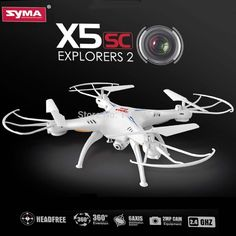 60.00$  Buy now - http://ali1xj.worldwells.pw/go.php?t=32327354377 - (In stock) 100% Original Syma X5SC 4CH 6-Axis Quadcopter with 2MP Camera Headless Mode