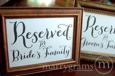 Wedding Bathroom Basket Sign  Wedding Reception by marrygrams, $8.00
